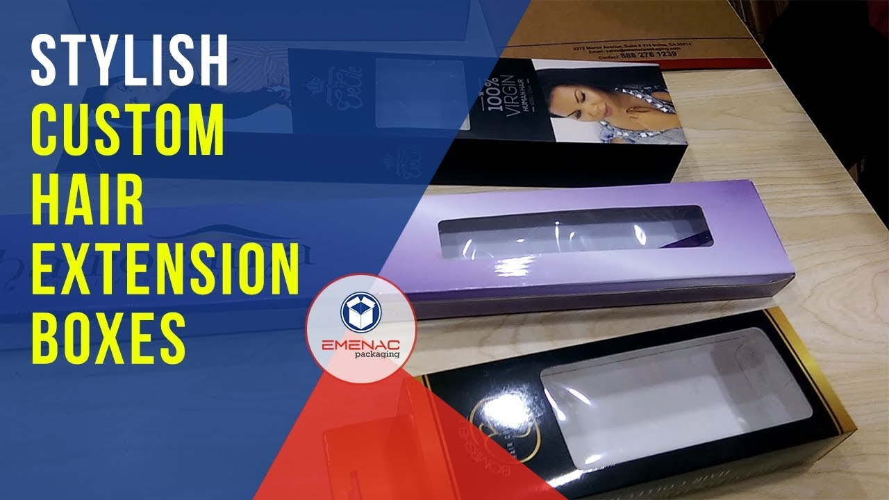 Custom hair extension boxes with best designs and styles emenac custom hair extension boxes with best designs and styles emenac packaging pmusecretfo Images