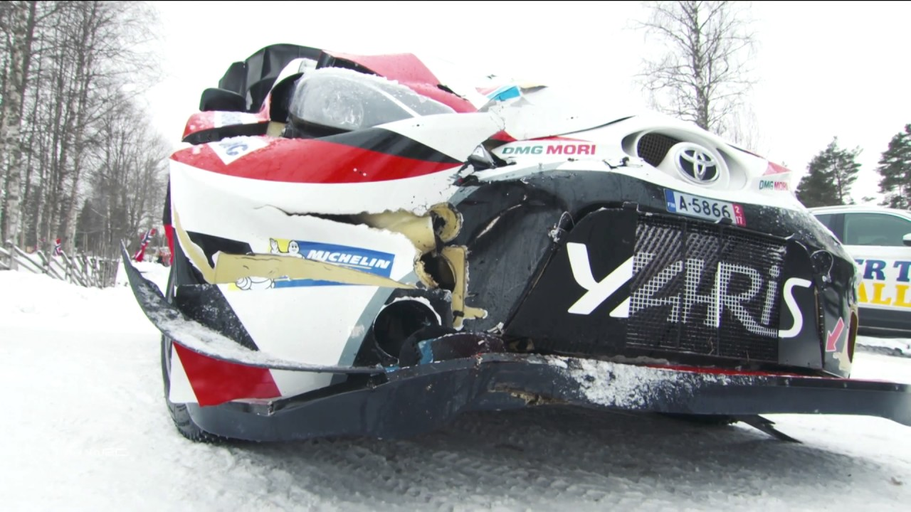 WRC - 2017 Rally Sweden - Day 2 part 2