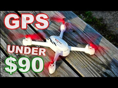 World's Cheapest GPS Camera Drone - Hubsan 502E X4 Desire Flight Review - TheRcSaylors