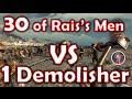 30 of Rais's Men VS 1 Demolisher | Dying Light