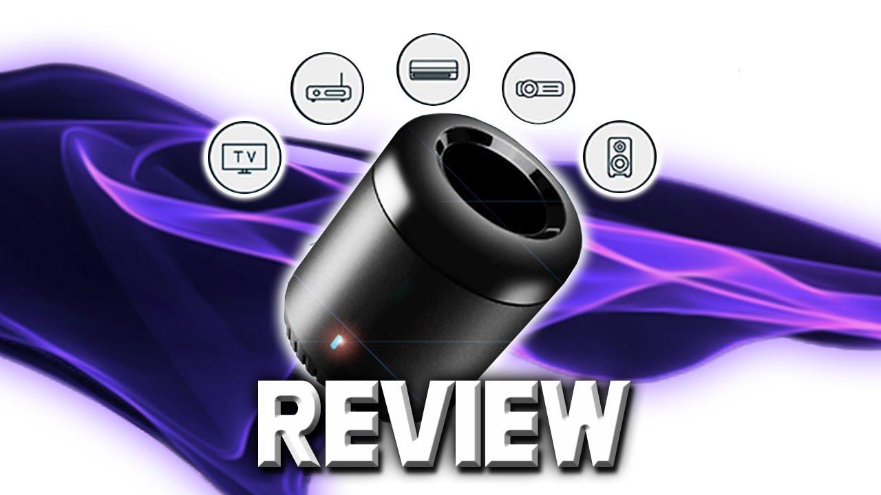 Broadlink RM Mini 3 Blackbean Review And Tutorial