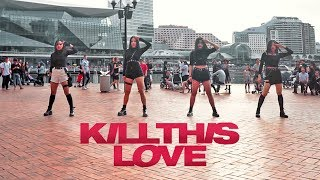 "[KPOP IN PUBLIC] BLACKPINK ""KILL THIS LOVE"" Dance Cover // Australia // HORIZON"