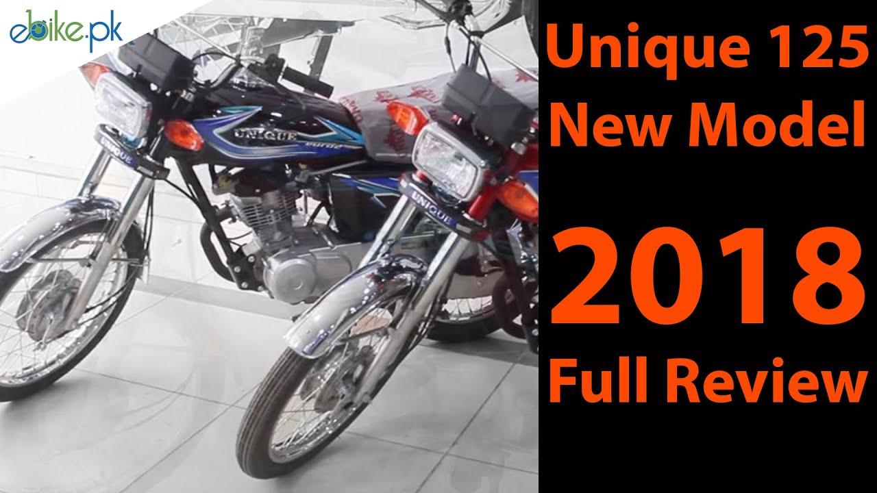 Unique 125 New Model 2018 Price In Pakistan Video Ebike Pk Youtube