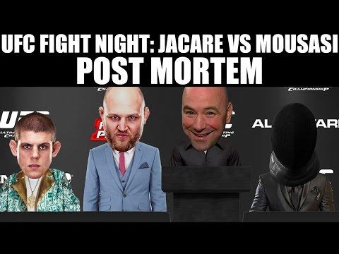 UFC MASHANTUCKET POSTMORTEM!!!