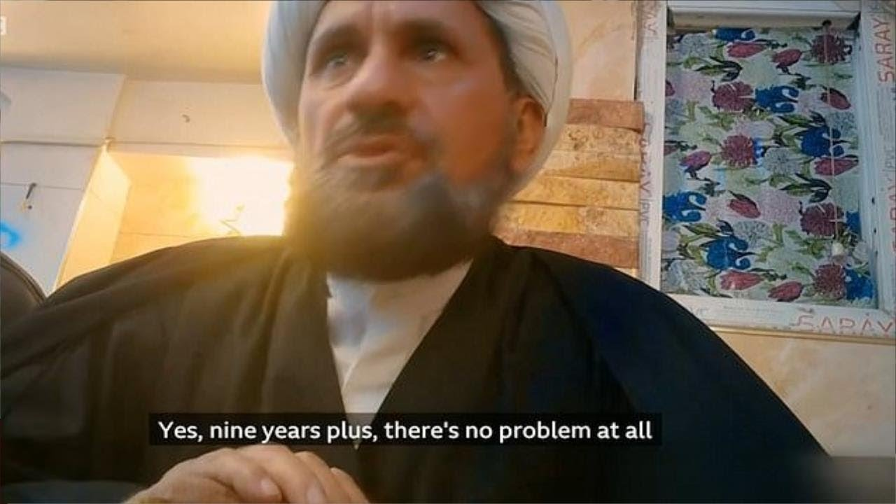 BREAKING: SHIA CLERICS IN IRAQ SELLING 9-YEAR-OLD GIRLS FOR SEX IN