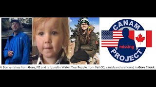 Missing 411- Statistical Facts & The Disappearance of Three People Found in Water.