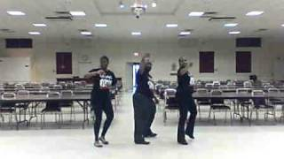 """Island Life"" line dance choreographed by Cessily Greene of LUV2DANCE"