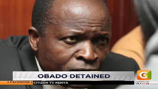 Governor Obado detained