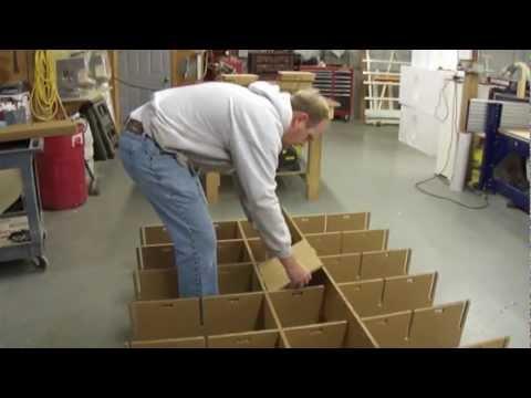 Making a Cardboard Shelf