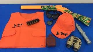 Box of Toys Toy Guns Hunting Toy Gun Set Kids Fun