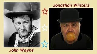 John Wayne's Last Sidekick - Jonathan Winters (?!)