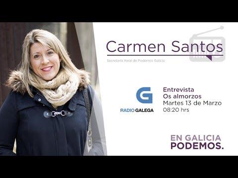 Entrevista Os almorzos - Carmen Santos 13.03.2018