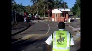 UKZN Edgewood Campus Strike - 24th April 2013