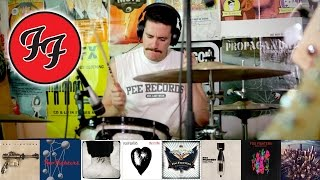Foo Fighters: A 5 Minute Drum Chronology [HD] - Kye Smith