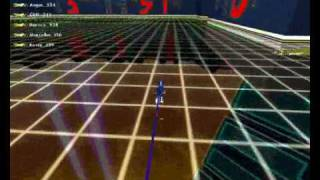 Tron 2.0 Light cycles gameplay