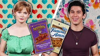 Teens Swap Snacks On A Blind Date