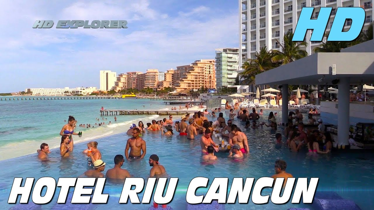 Hotel Riu Cancun Cancun Mexico Youtube