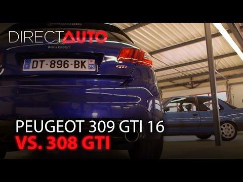 Duel : PEUGEOT 309 GTI 16 vs 308 GTI