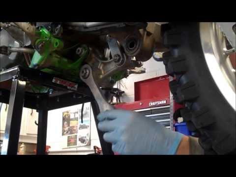 KX250 shock & linkage bearing replacement - Pivot Works