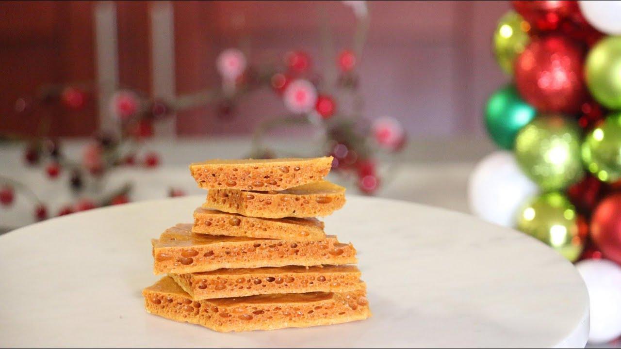 DIY Edible Christmas Gifts: How to make Honeycomb/Crunchie Bars ...