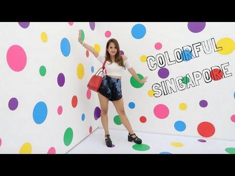 EXPLORE SINGAPORE | Yayoi Kusama Exhibition, Haji Lane, Chijmes etc.