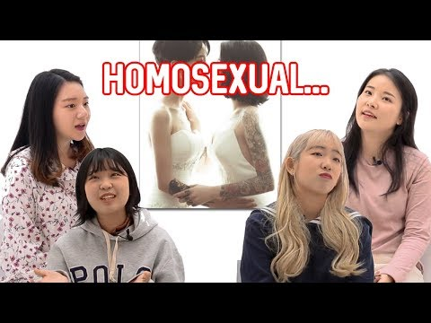 Koreans don't support homosexual people?