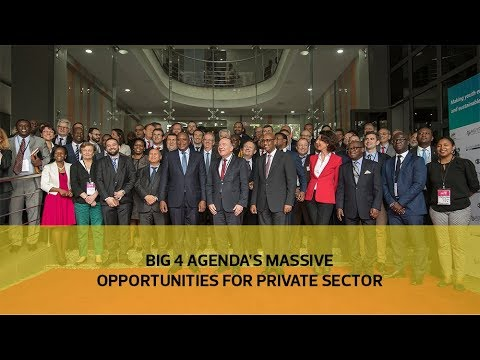 Big 4 Agenda's massive opportunities for private sector