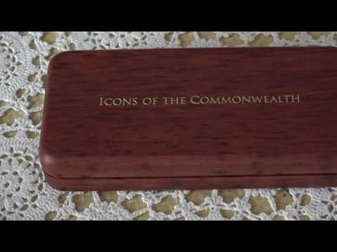 2008 Gold Coin Set - Icons Of The Commonwealth