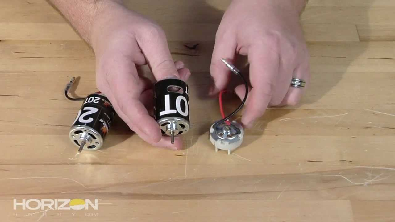 HorizonHobby com How-To: Understanding RC Motor Technology