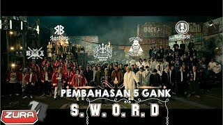 pembahasan gank sword dan cerita film high and low the movie (drama,action,japan)