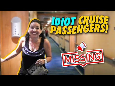 MISSING PASSENGERS ANNOUNCEMENT ON CARNIVAL BREEZE