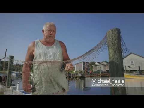 How To Mend A Net With Commerical Fisherman Michael Oden Peele