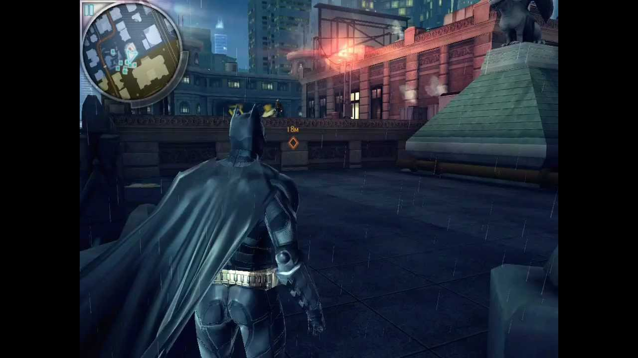 dark knight batman games