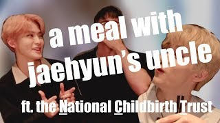a meal with jaehyun's uncle(?)