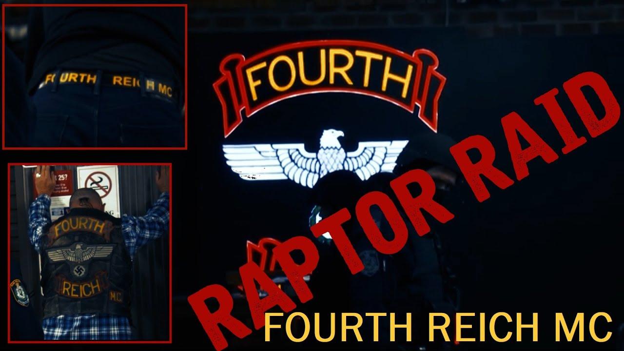Fourth Reich MC Raptor Raid   NSW Police