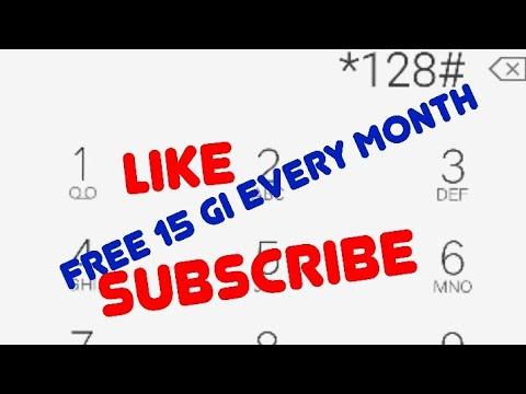 Free internet 15 GB setap bulan