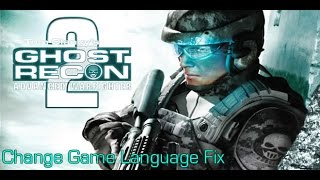 How to Change Game Language Tom Clancy