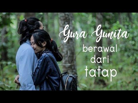 YURA YUNITA   BERAWAL DARI TATAP ( Unofficial Music Video Lyric)  Cover By SCP