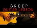 Radiohead - Creep Easy Acoustic Guitar Tutorial Lesson Cover + Tabs/Chords/Lyrics
