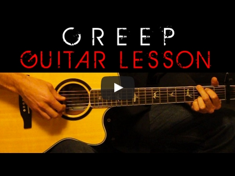 Radiohead - Creep Easy Acoustic Guitar Tutorial Lesson Cover + Tabs ...
