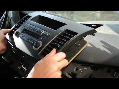 Aux в штатную магнитолу Mitsubishi Lancer X (10) за 15 минут