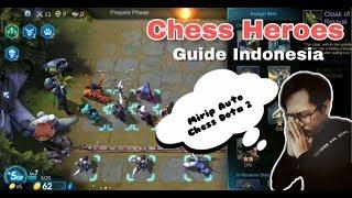 Auto Chess Heroes Indonesia Gameplay - Game Android/IOS Mirip Auto Chess Dota 2
