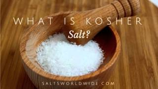 What Is Kosher Salt?