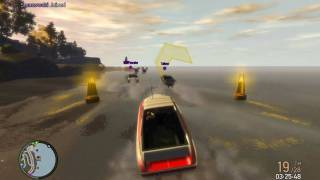GTA IV Helicopter|Boat Race 32/28 Players