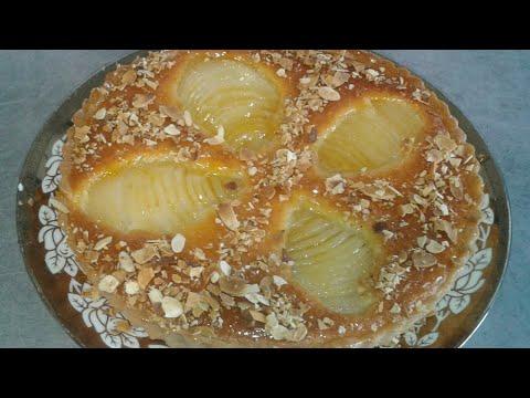 tarte-amandine-poire-🍰🍰.../...طورطة-ديال-اللوز-و-الاجاص-روعة-ولذيذة-جدا🍰🍰
