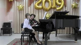 Открытый урок в музыкальной школе / Йозеф Гайдн - Соната Партита До Мажор