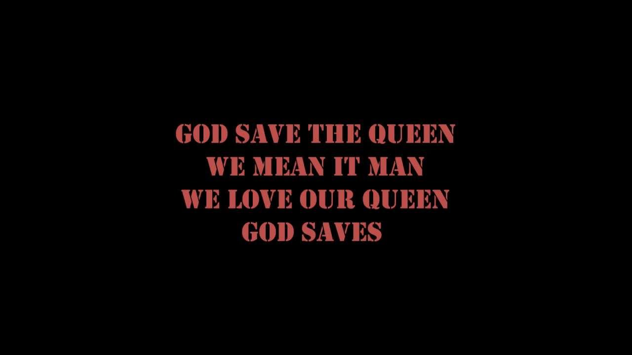God save the queen sex pistols lyrics