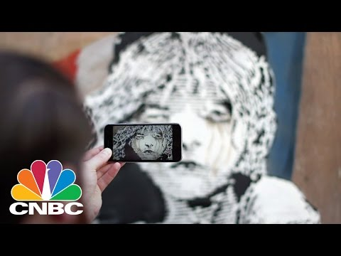 Banksy Artwork Protests Treatment Of Migrants: The Bottom Line | CNBC