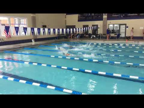 Andrew B - 50 Free - Illinois College Dual Meet