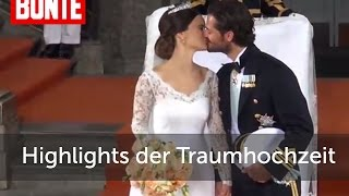 Sofia & Carl Philip: Die Highlights der Traumhochzeit! - BUNTE TV